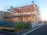 株式会社高盛ハウスの宮城県名取市の大工工事戸建て現場のレポート写真になります。