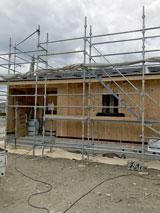 株式会社高盛ハウスの岩手県上閉伊郡大槌町の大工工事災害公営住宅現場のレポート写真になります。