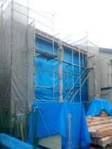 株式会社高盛ハウスの岩手県盛岡市の大工工事戸建て現場のレポート写真になります。