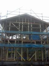 株式会社高盛ハウスの岩手県釜石市の大工工事戸建て現場のレポート写真になります。