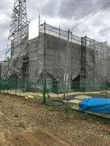 株式会社高盛ハウスの岩手県一関市の大工工事戸建て現場のレポート写真になります。