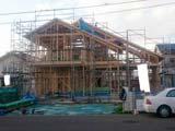 株式会社高盛ハウスの宮城県岩沼市の大工工事戸建て現場のレポート写真になります。