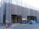 株式会社高盛ハウスの岩手県北上市の大工工事アパート現場のレポート写真になります。
