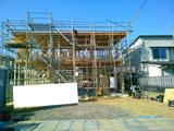 株式会社高盛ハウスの宮城県仙台市の大工工事戸建て現場のレポート写真になります。