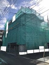 株式会社高盛ハウスが施工中の宮城県仙台市内(仙台市現場)の大工工事現場紹介写真になります。