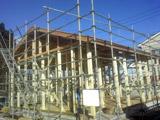 株式会社高盛ハウスが施工中の岩手県釜石市内(釜石市現場)の大工工事戸建て現場紹介写真になります。