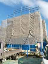 株式会社高盛ハウスが施工中の宮城県角田市内(角田市現場)の大工工事戸建て現場紹介写真になります。